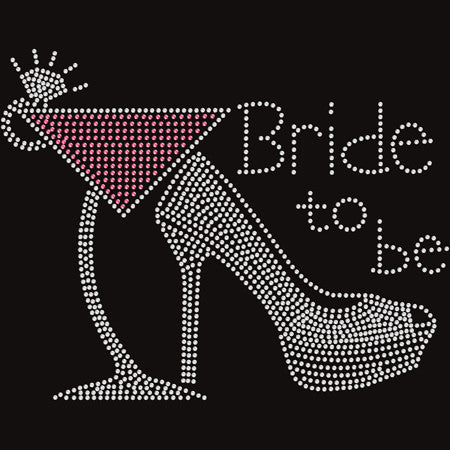 Bride-To-Be Rhinestone T-shirt