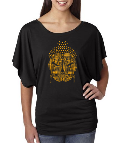 Studded Buddha Face Shirt