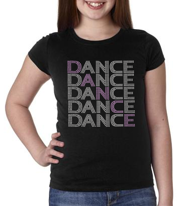Bling Dance Dance Dance Kids T-shirt