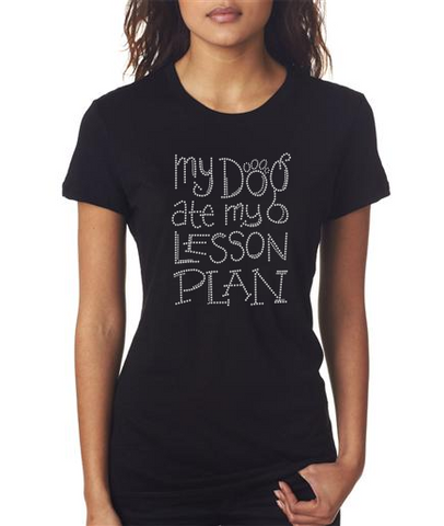 Funny Bling Teacher T-shirt