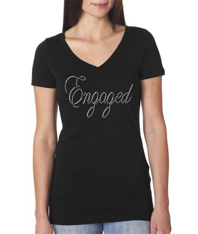 Bling Engaged T-shirt