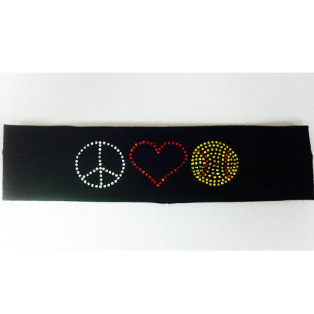 Bling Softball Headband