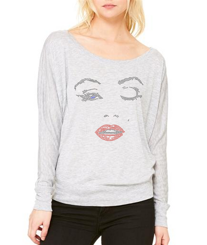 Bling Marilyn Monroe Blouse