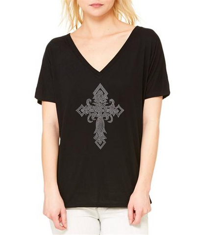 Bling Cross Shirt