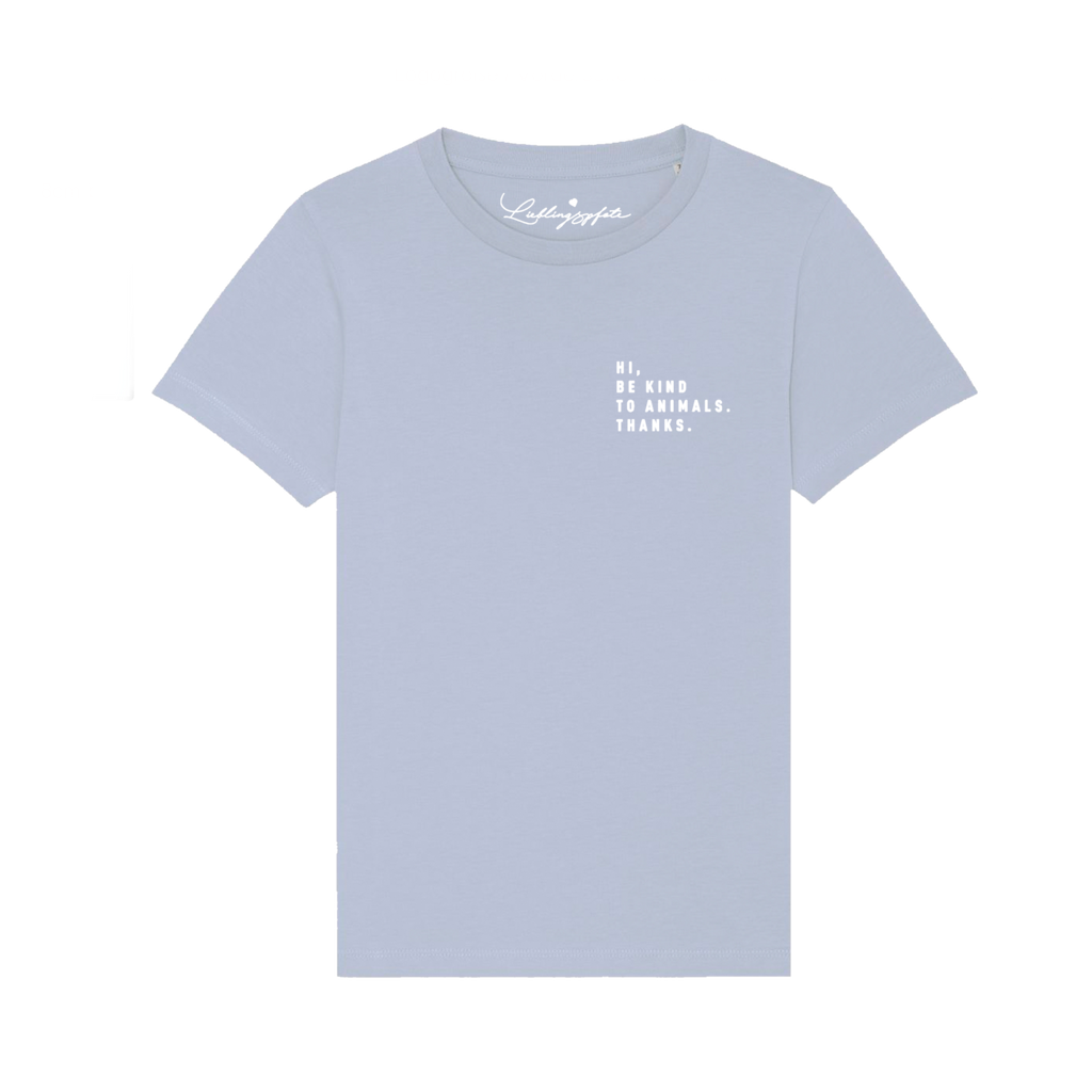 <transcy>T-Shirt &quot;BE KIND&quot; KIDS Blue</transcy>