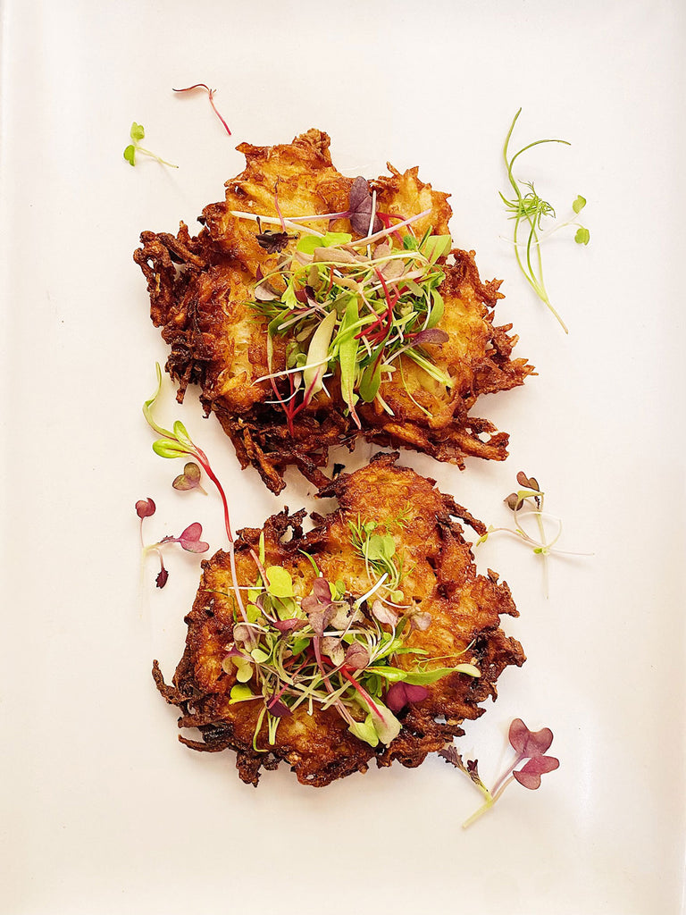 Traditional(ish) Latkes
