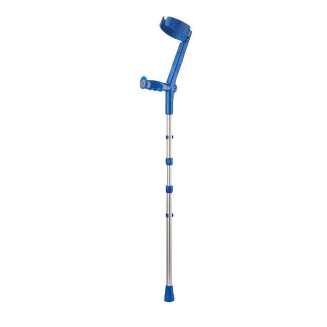 Rebotec Travel - Collapsible Elbow Crutches - Semi-Enclosed Cuff
