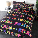 Scottish Pattern Quilt Cover Lattice Home Textile Letters Text Bedding Set Tree Wreath Bed Linens Retro Bedspreads
