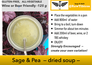 Sage & Pea - dried soup