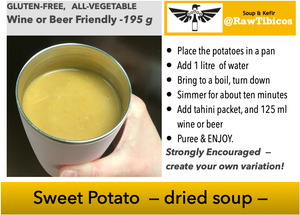 Sweet Potato - dried soup