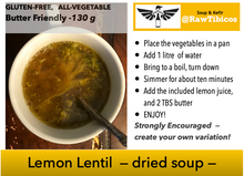 Load image into Gallery viewer, Lemon Lentil - dried soup