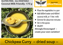 Load image into Gallery viewer, Chickpea Curry - dried soup