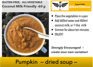 Pumpkin -- dried soup