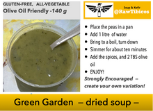 Load image into Gallery viewer, Green Garden - dried soup
