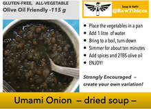 Load image into Gallery viewer, Umami Onion - dried soup