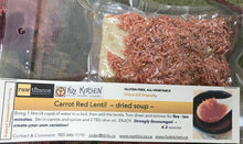 Load image into Gallery viewer, Carrot Red Lentil - dried soup