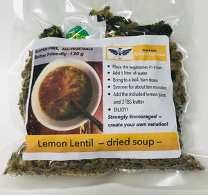 Lemon Lentil - dried soup