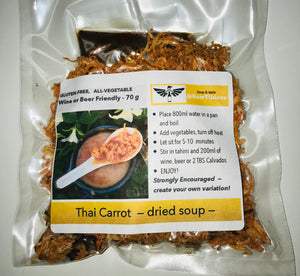Thai Carrot - dried soup