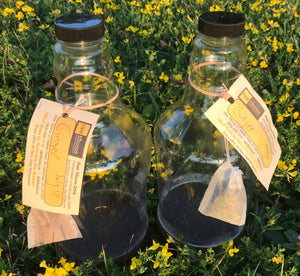 Ginger Water Kefir Concentrate - sports drink -- two growlers