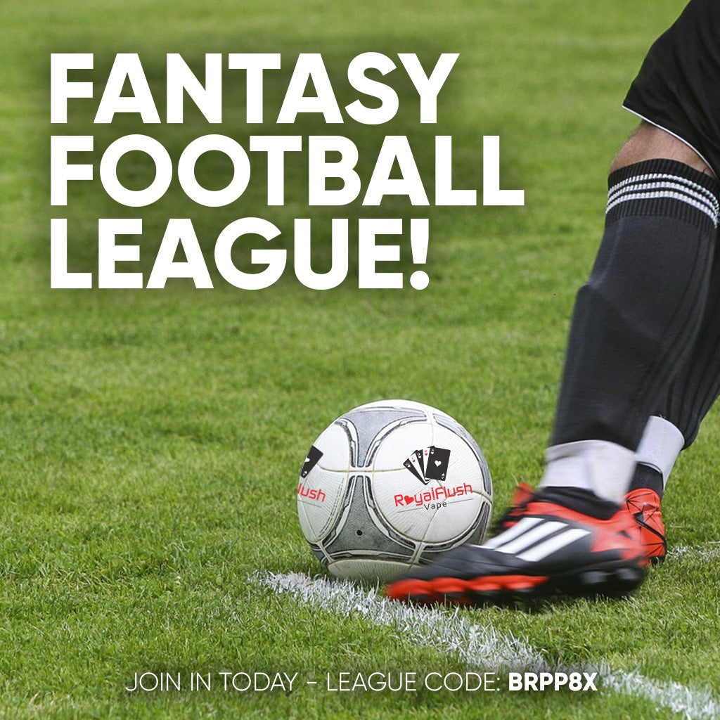 Royal Flush Vape - Fantasy Football League