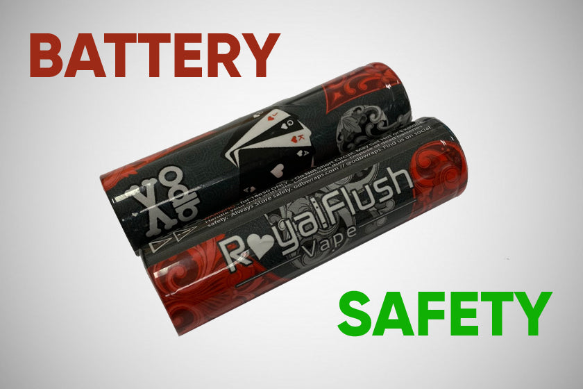 how to wrap vape battery safety guide