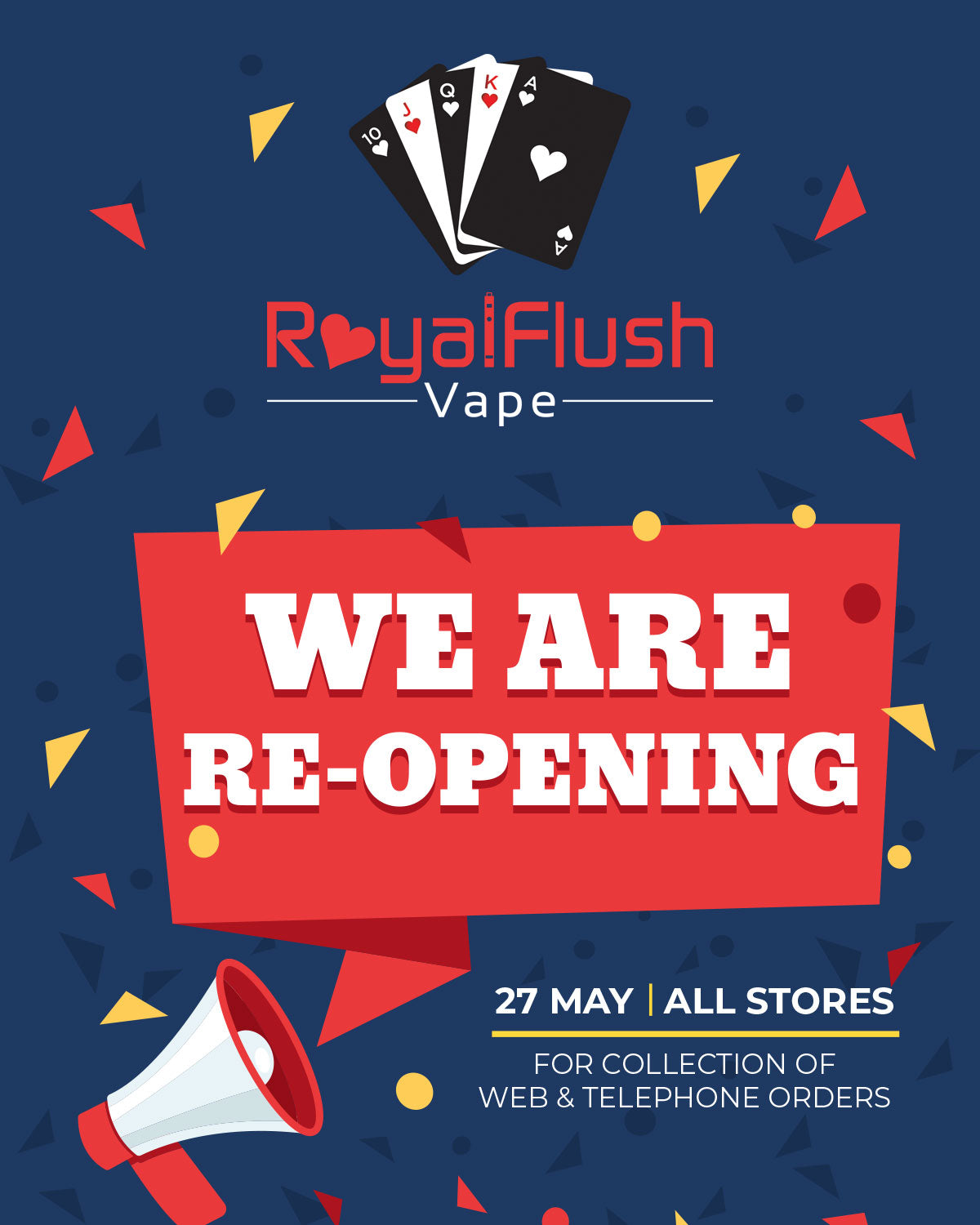 We Are Re-Opening!
