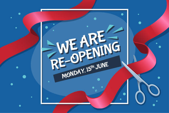 Yes! We Are Fully Re-Opening All Our Stores!