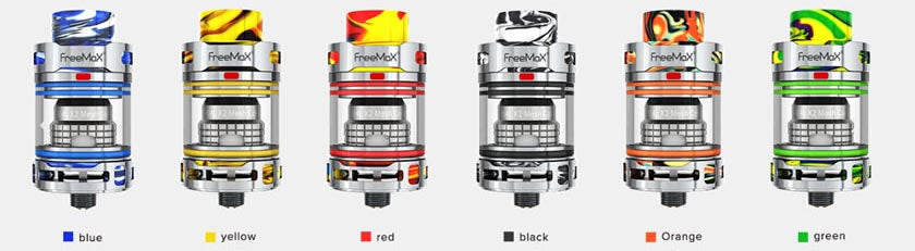freemax-fireluke-3-tank-review-colours-available