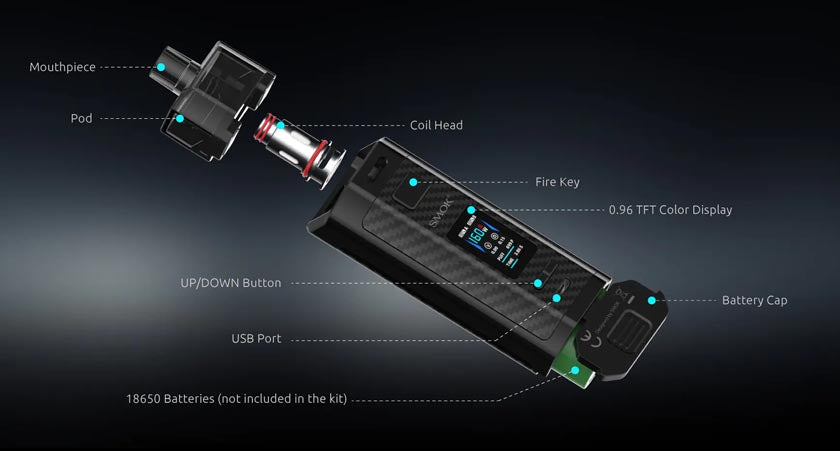 smok-rpm-160-specifications