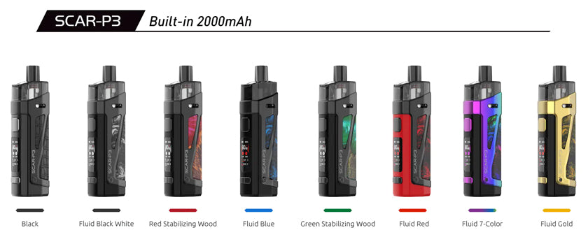 smok-scar-p3-pod-kit-review-colours