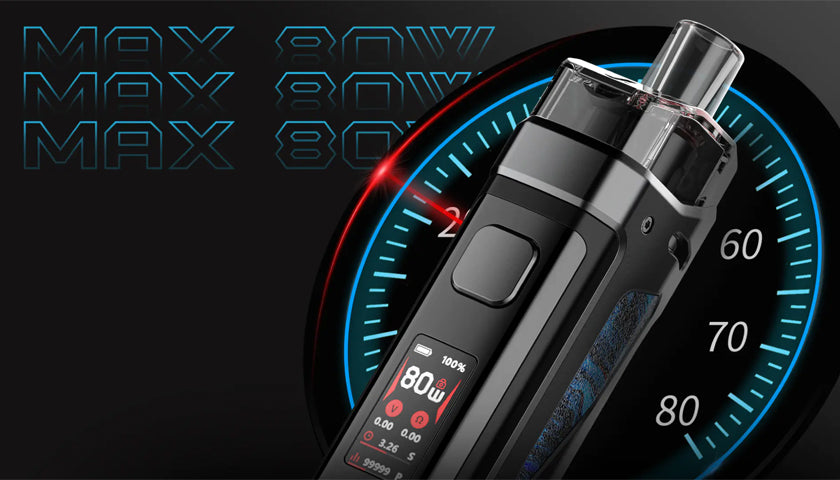 smok-scar-p3-pod-kit-review-wattage