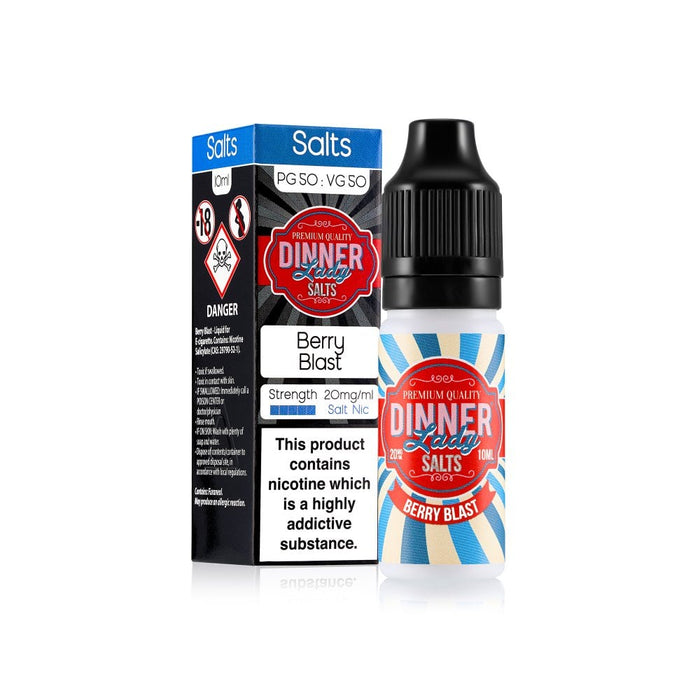 Berry Blast Nic Salts by Dinner Lady