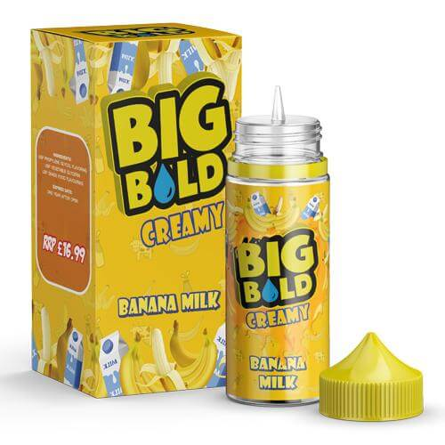 Banana Milk by Big Bold 100ml