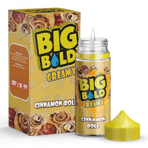 Cinnamon Roll by Big Bold 100ml
