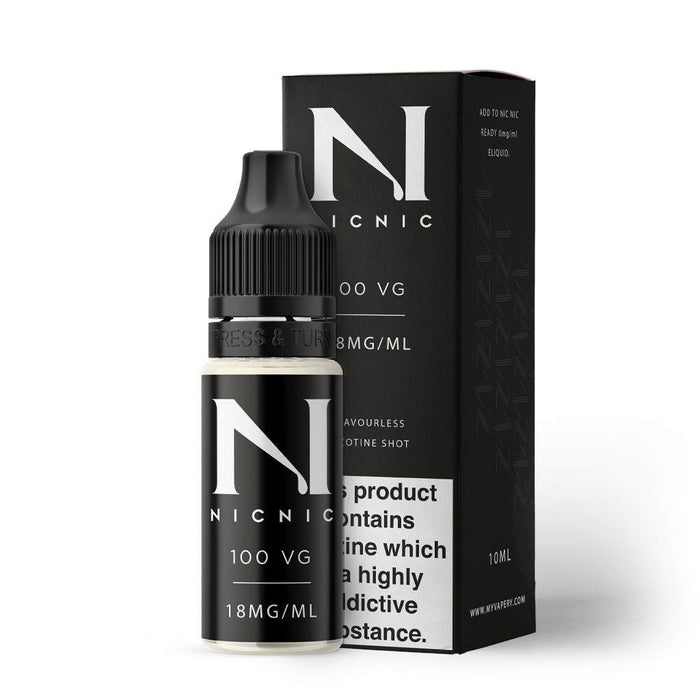 18mg 100VG Nicotine Shot by Nic Nic