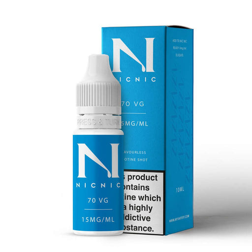 15mg 70VG Nicotine Shot by Nic Nic