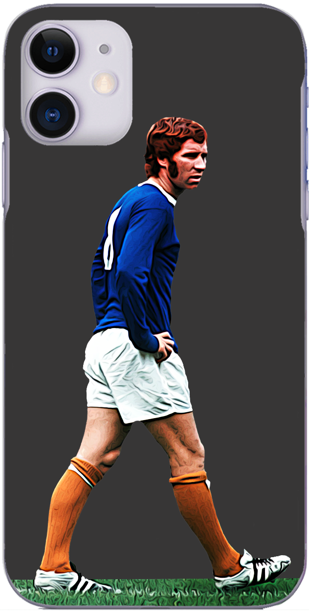 Everton - Alan Ball in action for Everton 1970