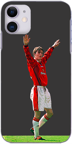 Man United - Beckham scores from the halfway line 1996