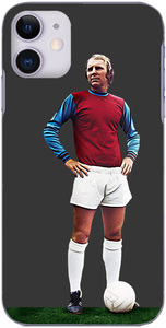 West Ham United - Bobby Moore of West Ham in 1971