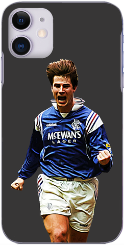 Rangers - Brian Laudrup celebrates scoring for Rangers 1997