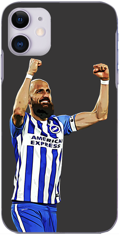 Brighton and Hove Albion - Bruno celebrates victory over The Hornets 2017