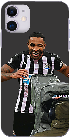 Newcastle United - Callum Wilson celebrates scoring against The Clarets 2020