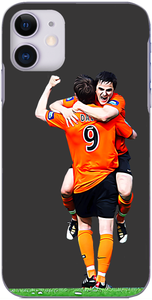 Dundee United - Jon Daly and Craig Conway celebrate winning the Scottish Cup 2010