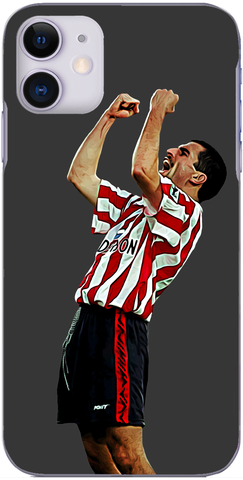 Southampton - Francis Benali celebrates Southampton's winner against The Dons 1995