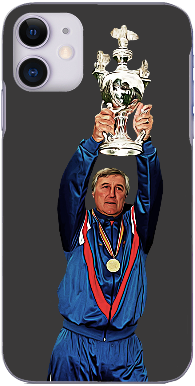 Shrewsbury Town - Fred Davies with Third Division trophy 1994