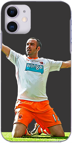 Blackpool - Gary Taylor-Fletcher scores at Old Trafford 2011