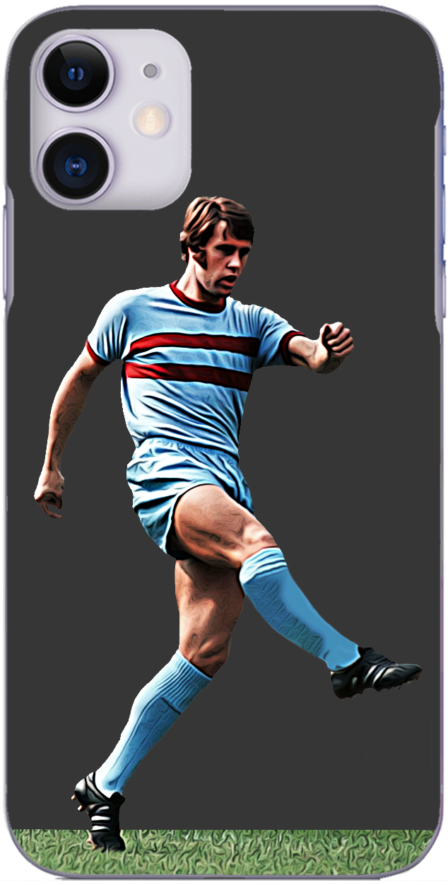 West Ham United - Geoff Hurst in action for The Hammers 1970