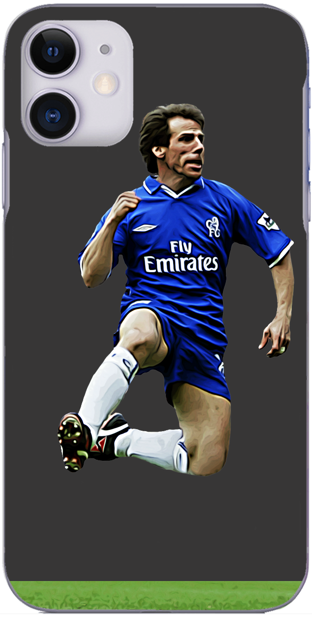 Chelsea - Gianfranco Zola scores at the Stadium of Light 2003