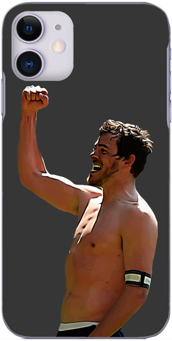 Brighton and Hove Albion - Gordon Greer celebrates the win at Forest 2014
