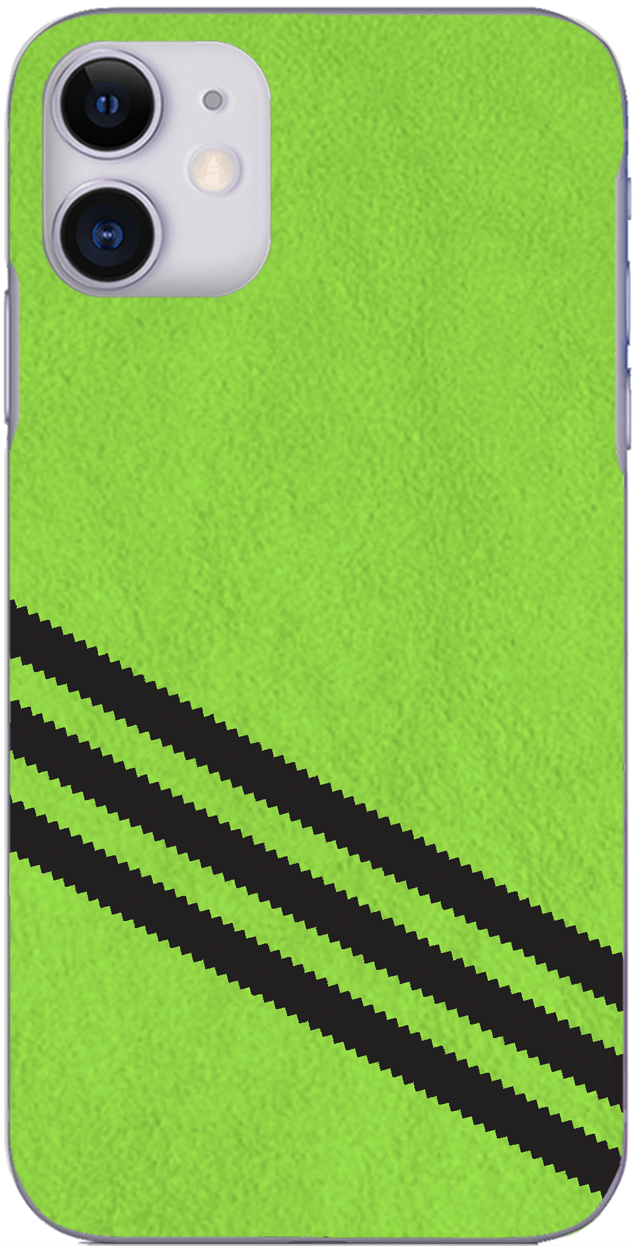 3 Stripe Collection - Green and black